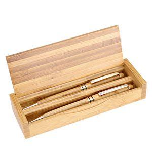 Set de bolígrafos bamboo