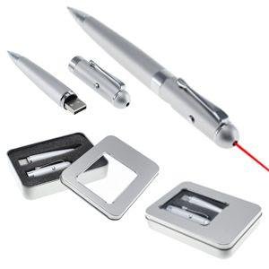 Bolígrafo láser con pendrive