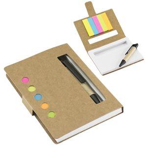 Memo set ecológico con bolígrafo