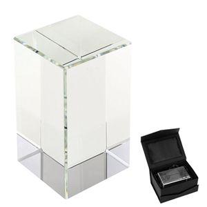 Mini Trofeo Bloque de cristal sólido