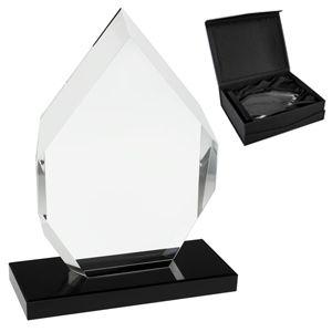 Trofeo de cristal diamante