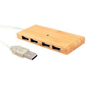 HUB 4 Puertos USB de Bamboo