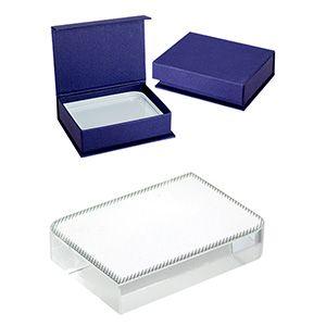 Trofeo pequeño de cristal. para sublimar